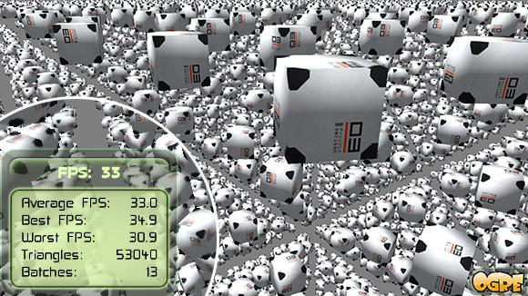 OGRE 3D Instancing
