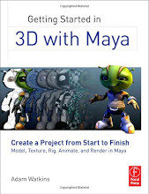 Review: Getting Started in 3D with Maya: Create a Project from Start to Finish – Model, Texture, Rig, Animate, and Render in Maya by Adam Watkins