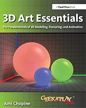 Review: 3D Art Essentials: The Fundamentals of 3D Modeling, Texturing, and Animation by Ami Chopine